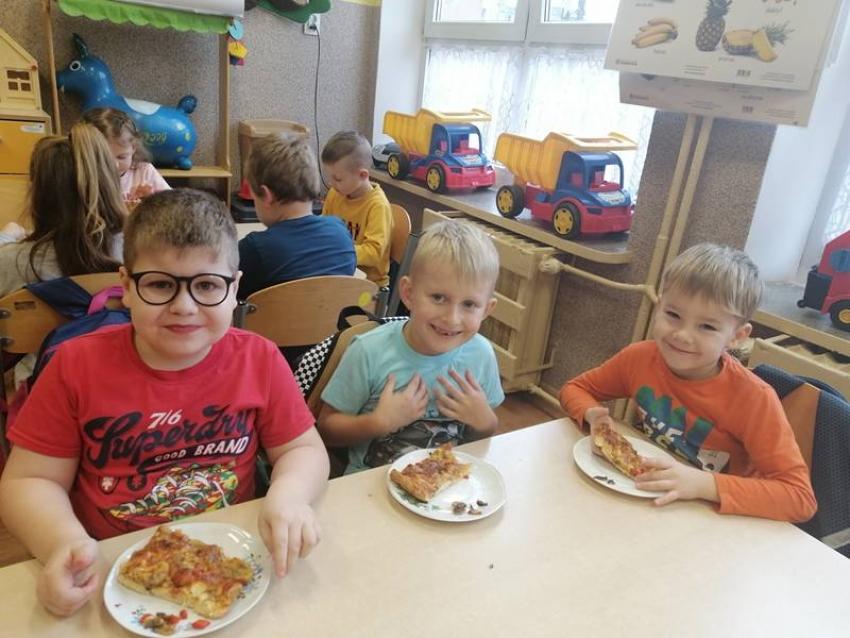 Dzień Pizzy w oddziale przedszkolnym 0b