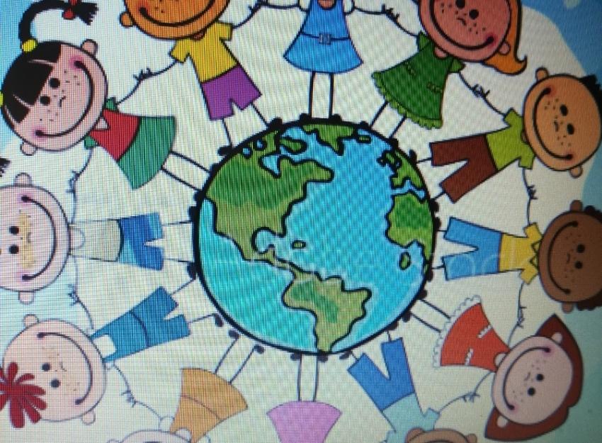 Dzieci z różnych krajów świata